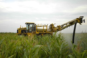 опрыскивание кукурузы